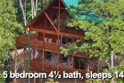 Pigeon Forge Log Cabin Rentals - Shaconage Lodge