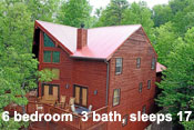 Pigeon Forge Log Cabin Rentals - Queens Chalet