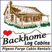Pigeon Forge Cabin Rental Backhome Log Cabin Rentals