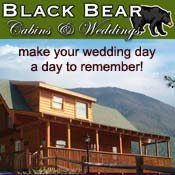 Pigeon Forge Cabin Rental Black Bear Cabins and Weddings