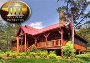 Pigeon Forge Cabin Rental Colonial Properties Cabin & Resort Rentals