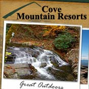 Pigeon Forge Cabin Rental Cove Mountain Resorts