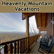 Pigeon Forge Cabin Rental Heavenly Mountain Vacations