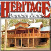 Pigeon Forge Cabin Rental Heritage Mountain Rentals