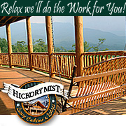 Pigeon Forge Cabin Rental Hickory Mist Luxury Cabins and Lodges