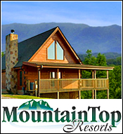 Pigeon Forge Cabin Rental Mountain Top Resorts