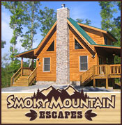 Pigeon Forge Cabin Rental Smoky Mountain Escapes