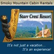 Pigeon Forge Cabin Rental Starrcrest Resort