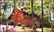 Pigeon Forge Cabin Rental Twin Mountain Log Cabins