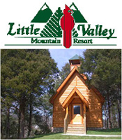 visit us online little valley wedding chapel