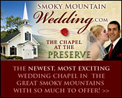 Smoky Mountain Wedding Chapel